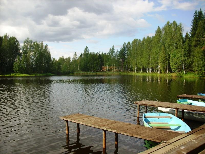 валдайское озеро моторная лодка